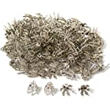 150 Bead Caps Necklace Chain Charm Bails Jewelry Part