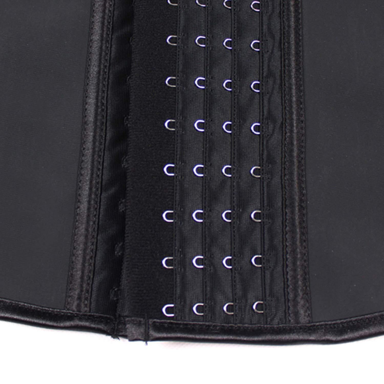 Waist Cincher Body Shaper Corset Slimming Vest Waist Trainer Girdle Belt,Black,XXL,United States
