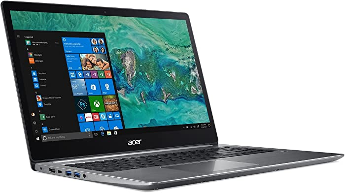 "Acer Swift 3, 8th Gen Intel Core i5-8250U, 15.6"" Full HD, 8GB DDR4, 256GB SSD, Windows 10 Home, SF315-51-518S"