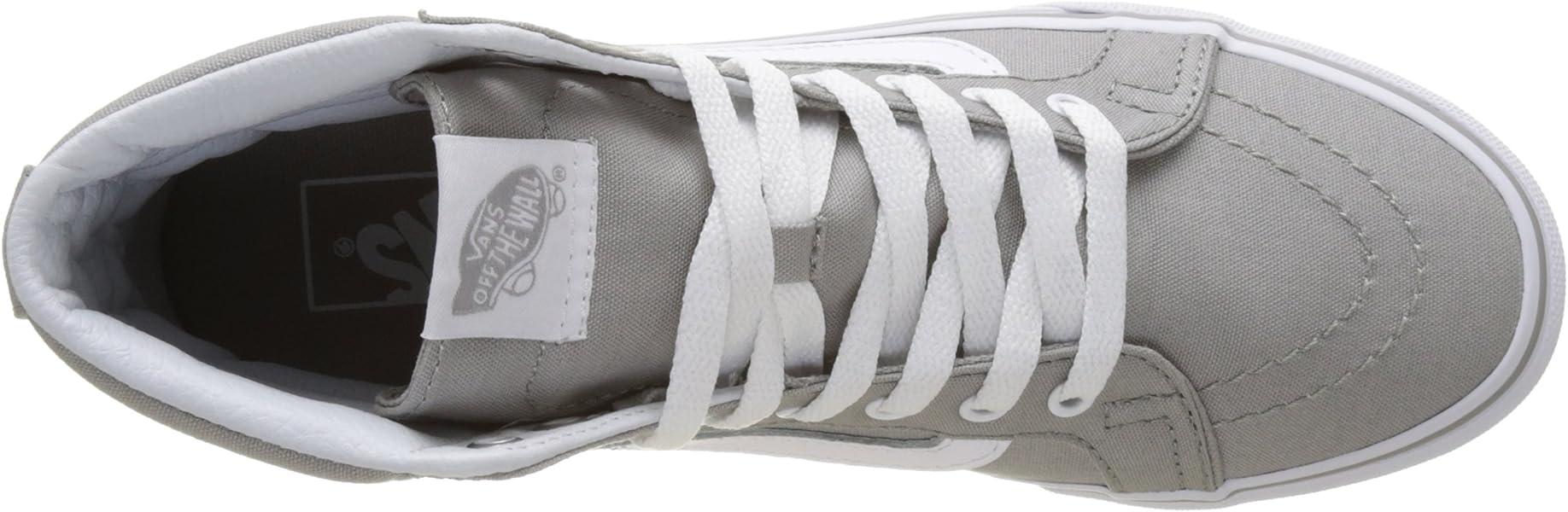 c93c8767bf Vans Damen Ua Sk8-hi Slim Hohe Sneakers Grau (Drizzle True White ...