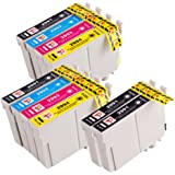 PerfectPrint Compatibile Inchiostro Cartuccia Sostituzione Per Epson XP-235 XP-335 XP-432 XP-442 XP-342 XP-245 XP-435 XP-332 XP-247 XP-445 XP-345 T2991/2/3/4 (Nero/Ciano/Magenta/Giallo, 10-Pack)