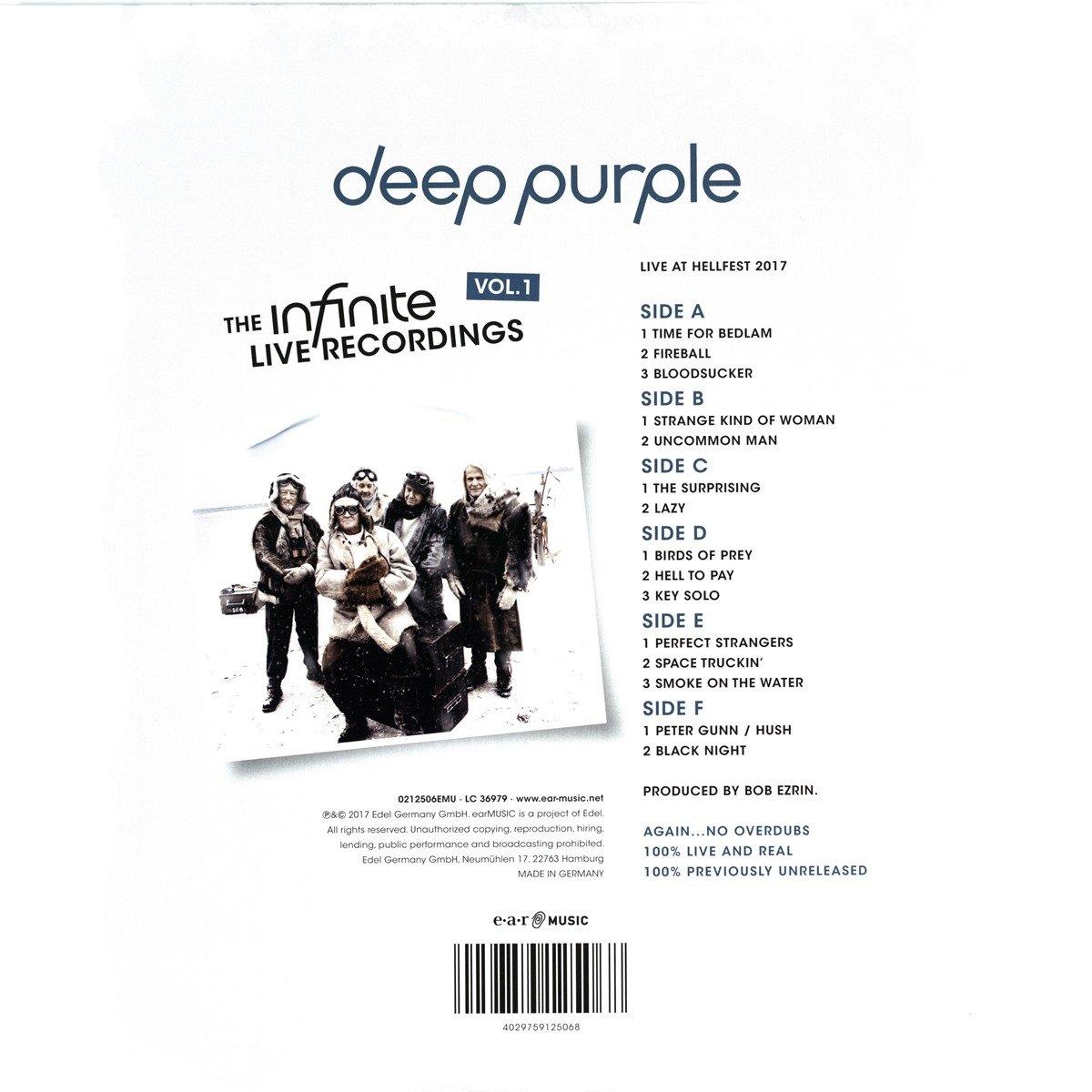 Deep Purple The Infinite Live Recordings Vol1 Vinyl Lp Deep
