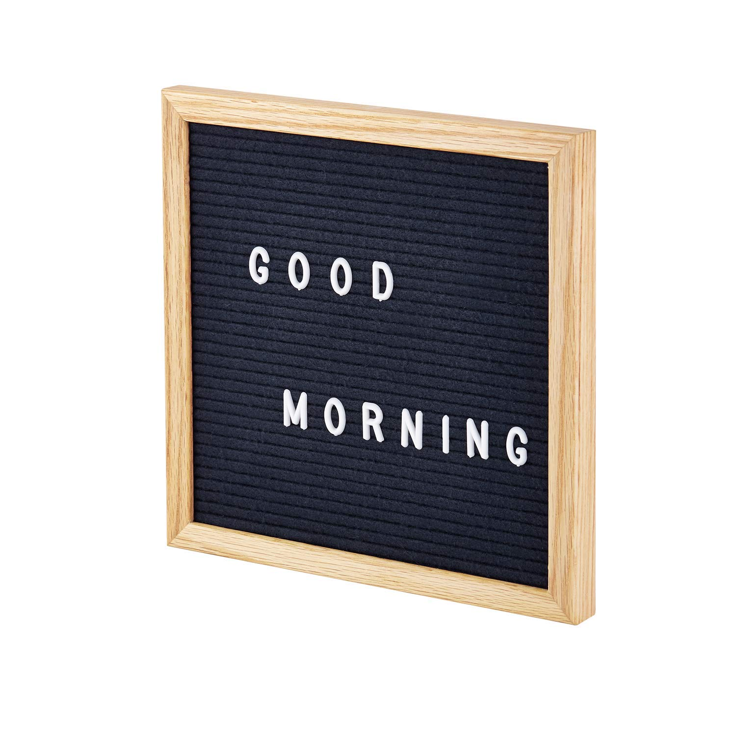 Gingersnap Felt Letter Board Small 10x10 Inch Midnight Blue