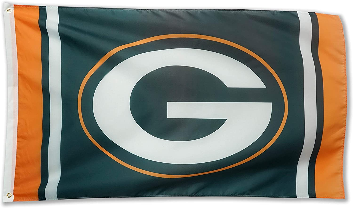 XIFAN Polyester Flag for Green Bay Packers Team Brass Grommets Football Sports Banner 3 X 5 FT