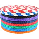 SGT Knots Multifilament Polypropylene Rope - Derby Rope (5/16 inch - 1/2 inch) Solid Braid Soft Touch MFP Floating Line - Boating, Docks, Animal Handling, Theater, Crafting (10 ft - 250 ft)