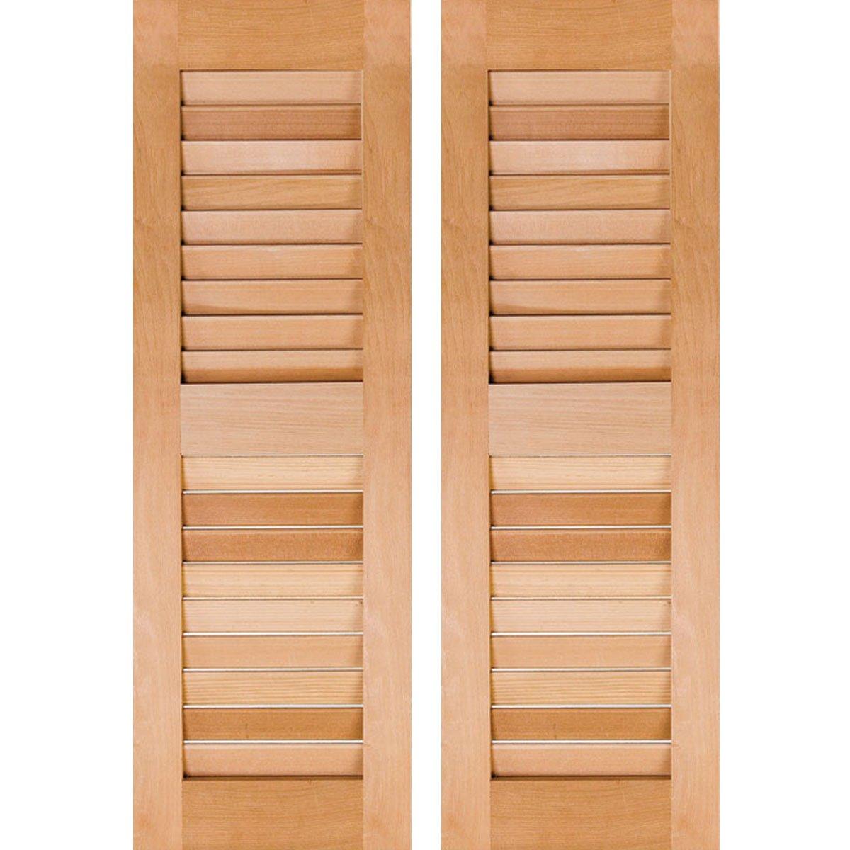 Ekena Millwork RWL12X045UNW Exterior Real Wood