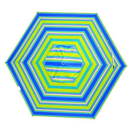 Shadezilla 7 ft Deluxe Beach Patio Umbrella UPF100 – Market Style