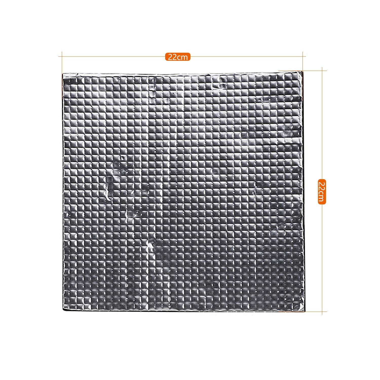 Tapis De Protection Thermique Imprimante 3d Auto-Adh/ésif Coussin Isolant De Lit De Chaleur Tapis De Lit Chaud dImprimante 3d 300x300x10mm Huayue 3pcs Tapis dIsolation dImprimante 3d