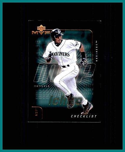 8df1be359 Amazon.com  2002 Upper Deck MVP  298 Ichiro Suzuki Seattle Mariners ...