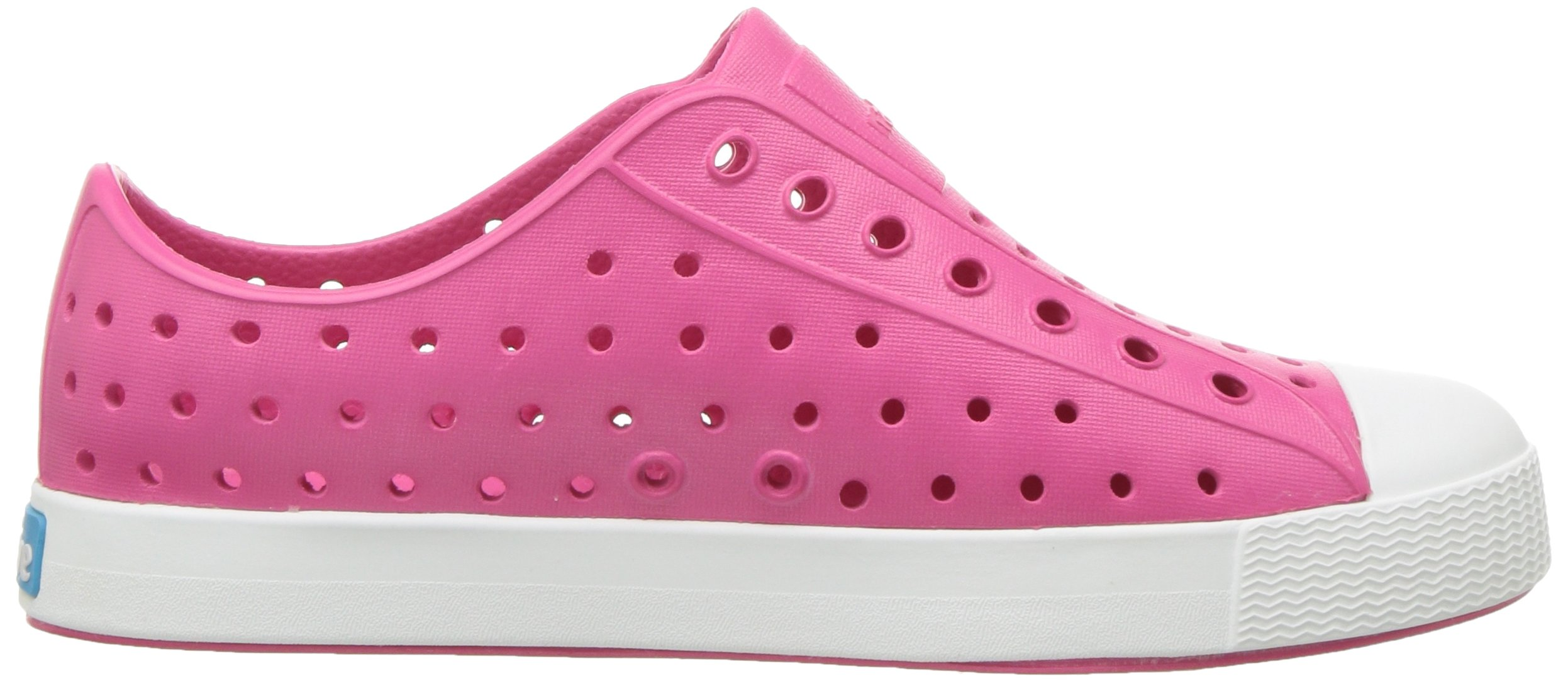 Native Kids Girls Jefferson Junior Water Proof Shoes, Hollywood Pink/Shell White, 6 Medium US Big Kid by Native Shoes (Image #7)