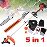 PanelTech 5 in 1 52CC Brush Cutter Hedge Trimmer