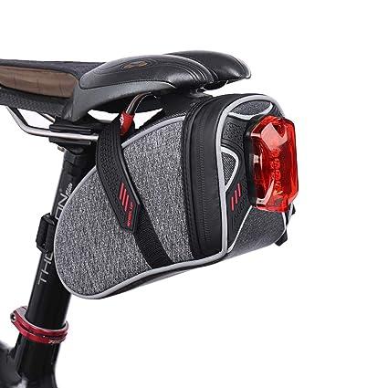 Amazon.com: TecTri - Bolsa para sillín de bicicleta ...