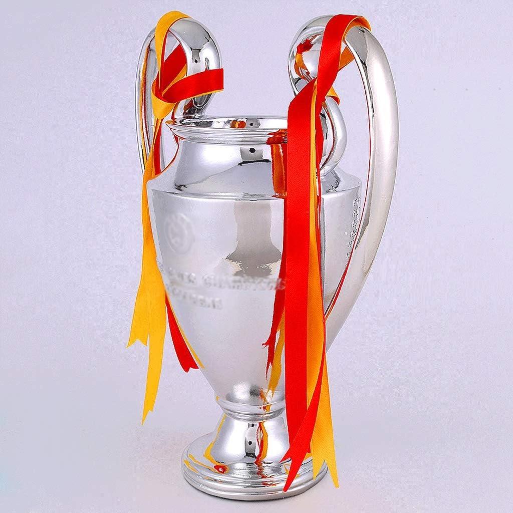 Copa de Campeones de Europa 2019 Trofeo Personalizado Trofeo de f/útbol Trofeo de la Liga de Campeones Recuerdos de Liverpool Size : 33cm