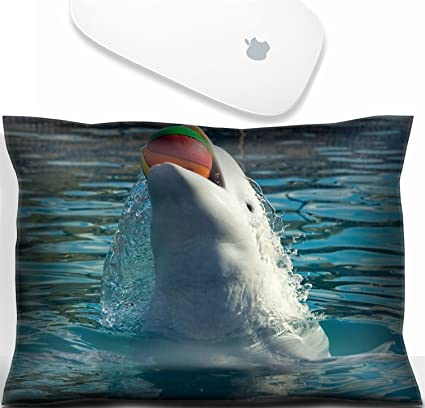 Beau Luxlady Mouse Wrist Rest Office Decor Wrist Supporter Pillow The White  Whale Plays A Basketball Ball