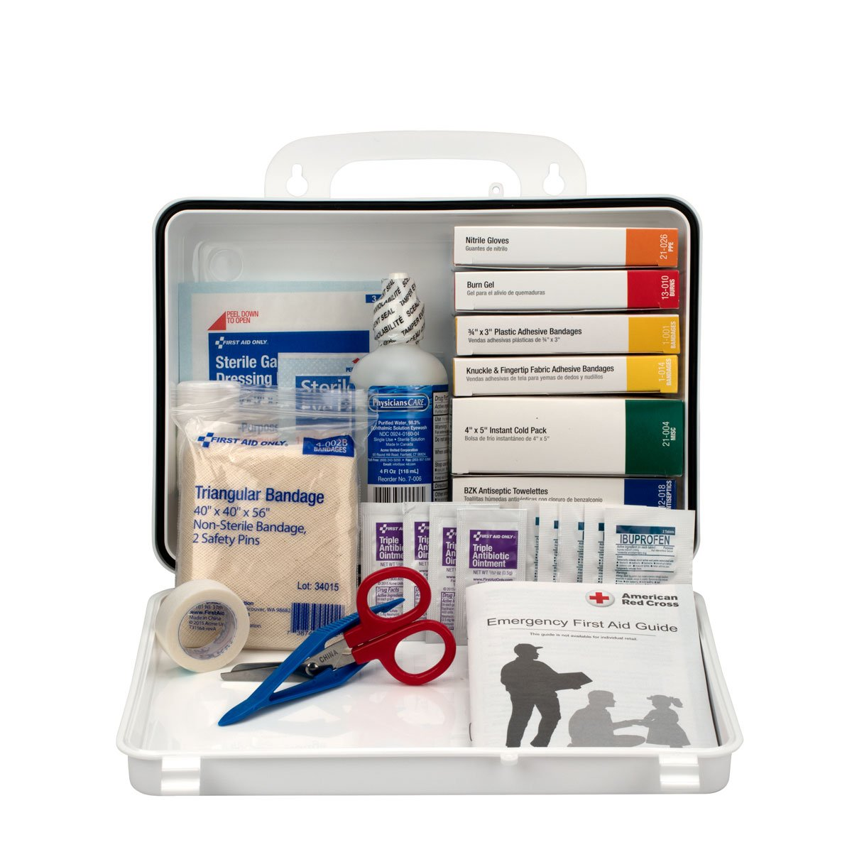Pac-Kit by First Aid Only Vehicle Bulk First Aid Kit, 85-Piece Kit