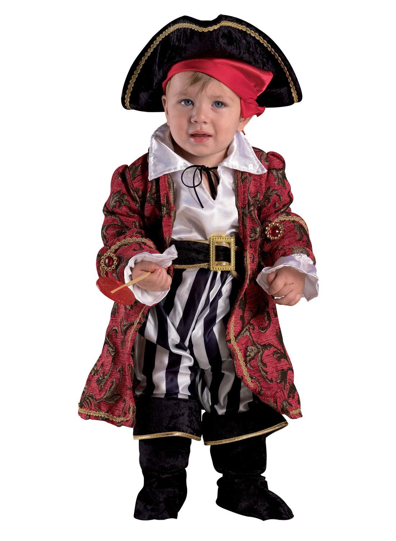 chiber Disfraces Disfraz Bebe Capit/án Pirata 6-12 Meses