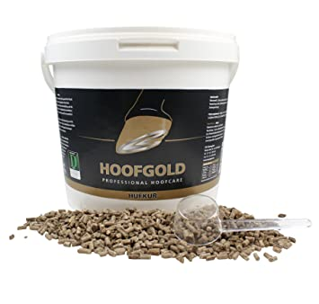 98f70d450cab HOOFGOLD Hoof Oro hufkur, 4 kg, complemento Forro Medio para ...