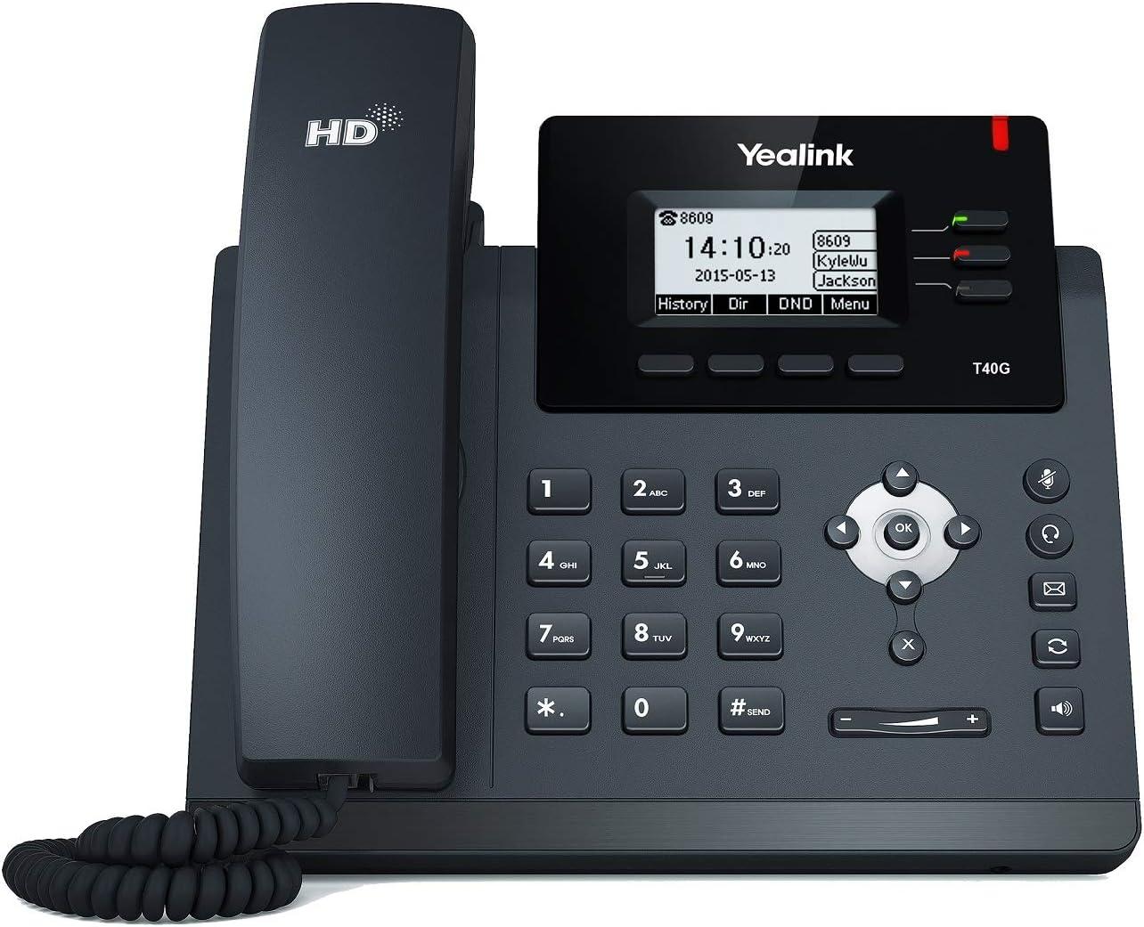 color negro Yealink W60 Paquete Del Tel/éfono IP