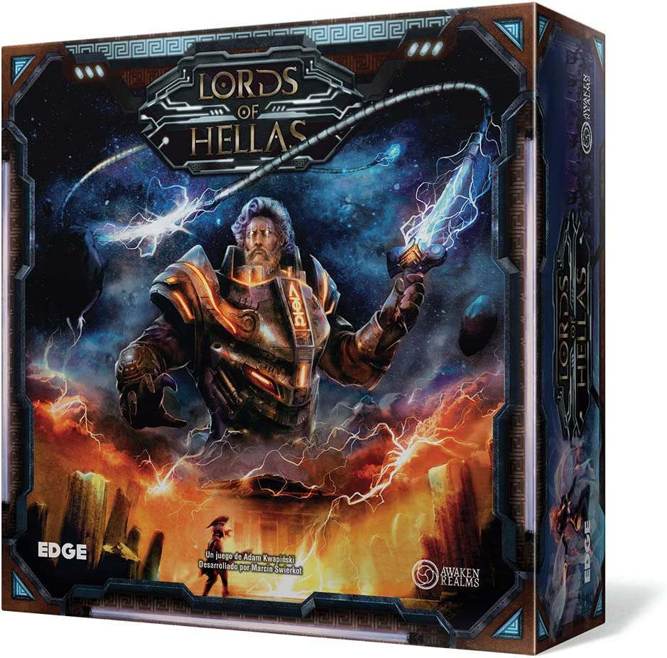 Edge Entertainment- Lords of Hellas - Español, Color Gris ...