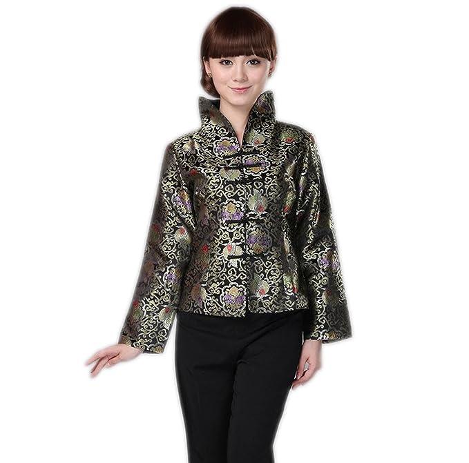 Amazon Com Yuelian Women Chinese Tang Suit Clothing Top Coat Jacket