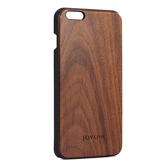 free shipping 2af73 acdfa iPhone 6S Plus Case Wood/iPhone 6 Plus Case Wood 5.5 Inch, Joylink Wood  Case (Walnut Wood)