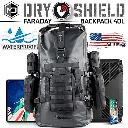 Amazon.com: Misión Oscuridad seco Shield Faraday Mochila 40L ...