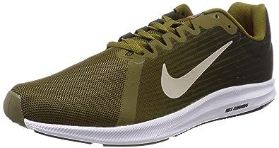 huge discount 6427b f3779 Nike Downshifter 8, Chaussures de Running Homme, Vert (Olive Flak String-