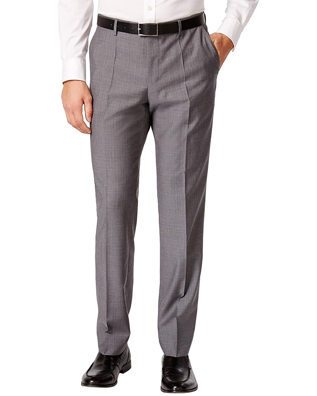 82b5db400 ... Hugo Boss Mens Medium Grey Mini Grid Extra Slim Fit Suit 2 Piece C- Jeffrey ...