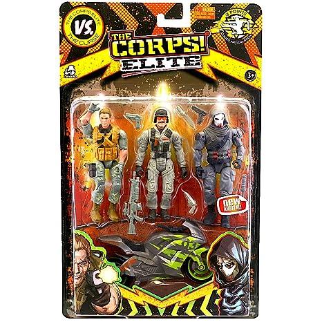 Amazon.com: Corps Elite Action Figure Set 3.75