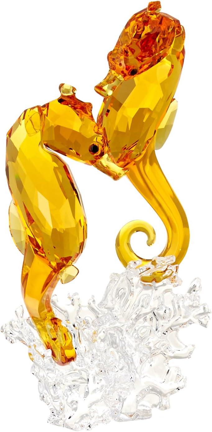 Swarovski 5216032 Seahorse Couple Collectible Figurine