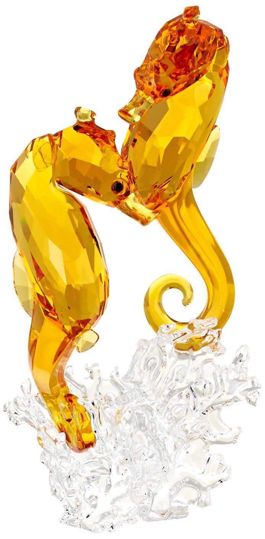 Swarovski 5216032 Seahorse Couple Collectible Figurine by Swarovski (Image #1)