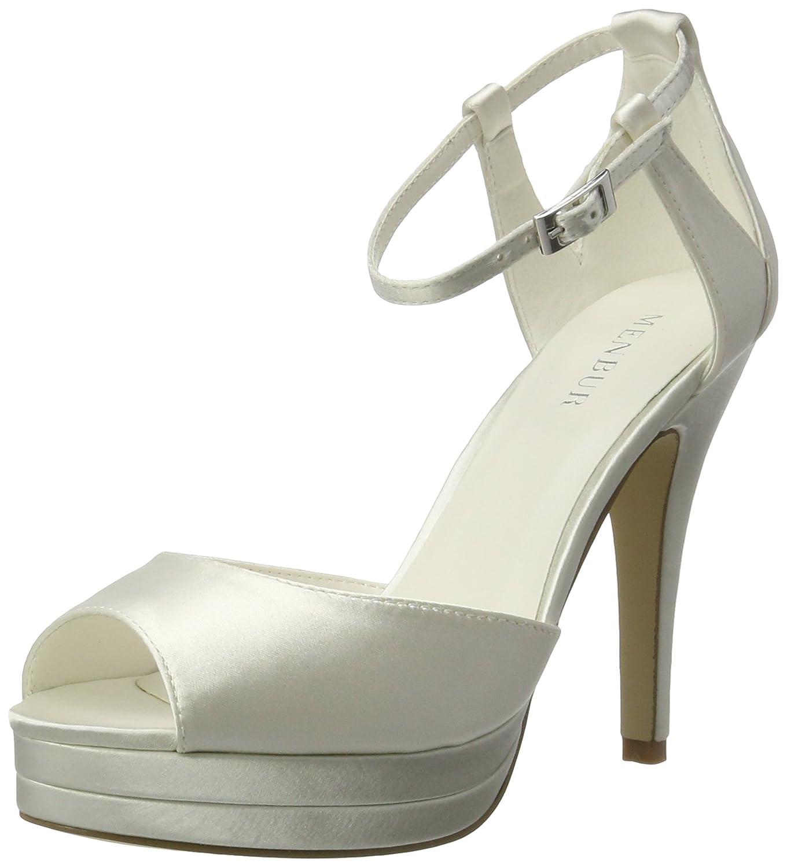 Menbur Wedding Angelis, Menbur Chaussures Compensées 04) B01MECD7S7 Femme Ecru (Ivory 04) 297be33 - tbfe.space