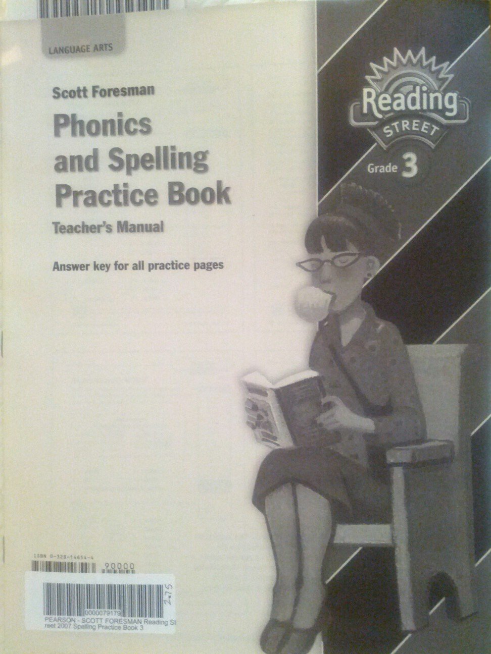 Phonics and spelling practice book teachers manual scott foresman phonics and spelling practice book teachers manual scott foresman reading street grade 3 9780328146543 amazon books fandeluxe Images