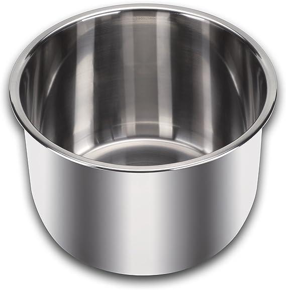 Amazon.com: Olla de 3 cuartos Instant Pot. Acero inoxidable ...
