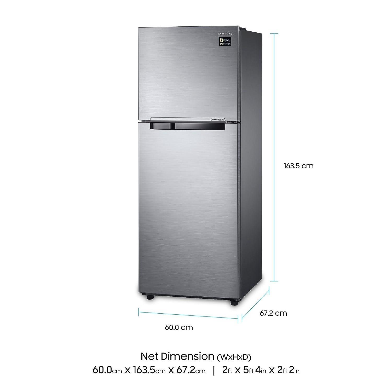 Samsung 321 L 3 Star Frost Free Double Door Refrigerator