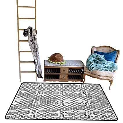 Amazon Com Living Room Carpet Rug Celtic Horizontal Knotted