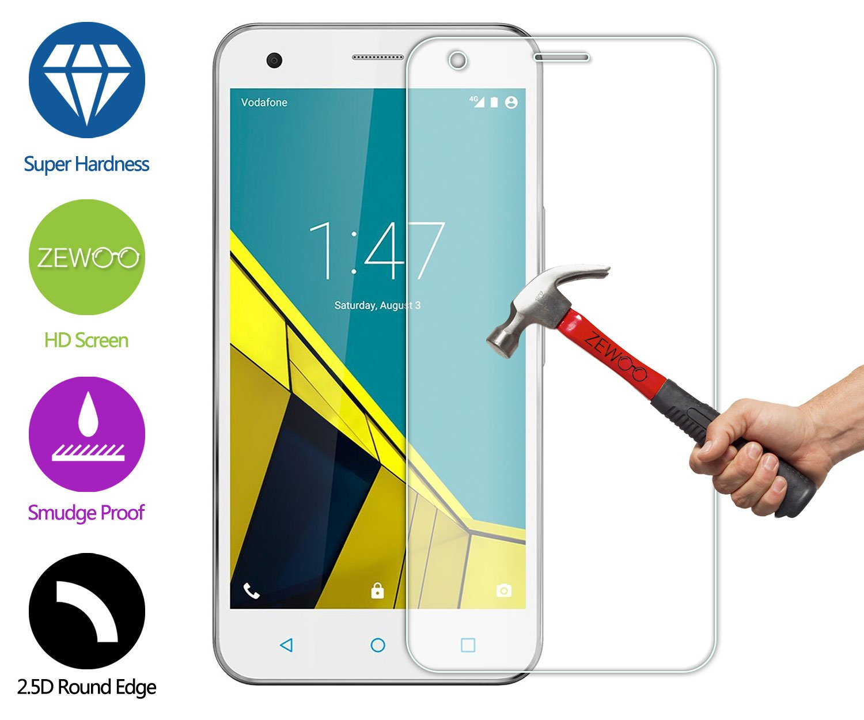 Para Vodafone Turbo 7 (5 pulgadas) Protector de Pantalla ZeWoo® Cristal Vidrio Templado Premium (9H *2.5D, 0,33mm): Amazon.es: Electrónica