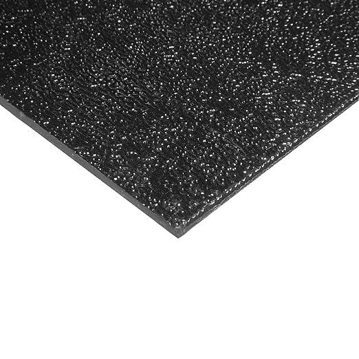 "BLACK ABS FLAT STOCK machinable plastic sheet bar hardcell 1//4/"" x 2/"" x 36/"" OAL"
