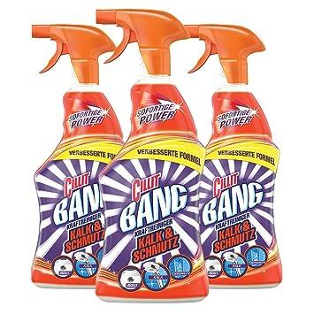 Cillit Bang Fuerza limpiador cal y suciedad, (3 unidades x 750 ml): Amazon.es: Salud y cuidado personal