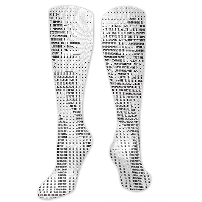 4762ed56a4d92 Amazon.com: Compression Stockings Alphabetic Character With Benefit ...