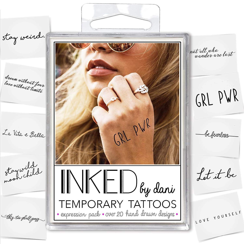 INKED by DaniTatuaje temporal de Dani, diseño realista, dibujado a ...