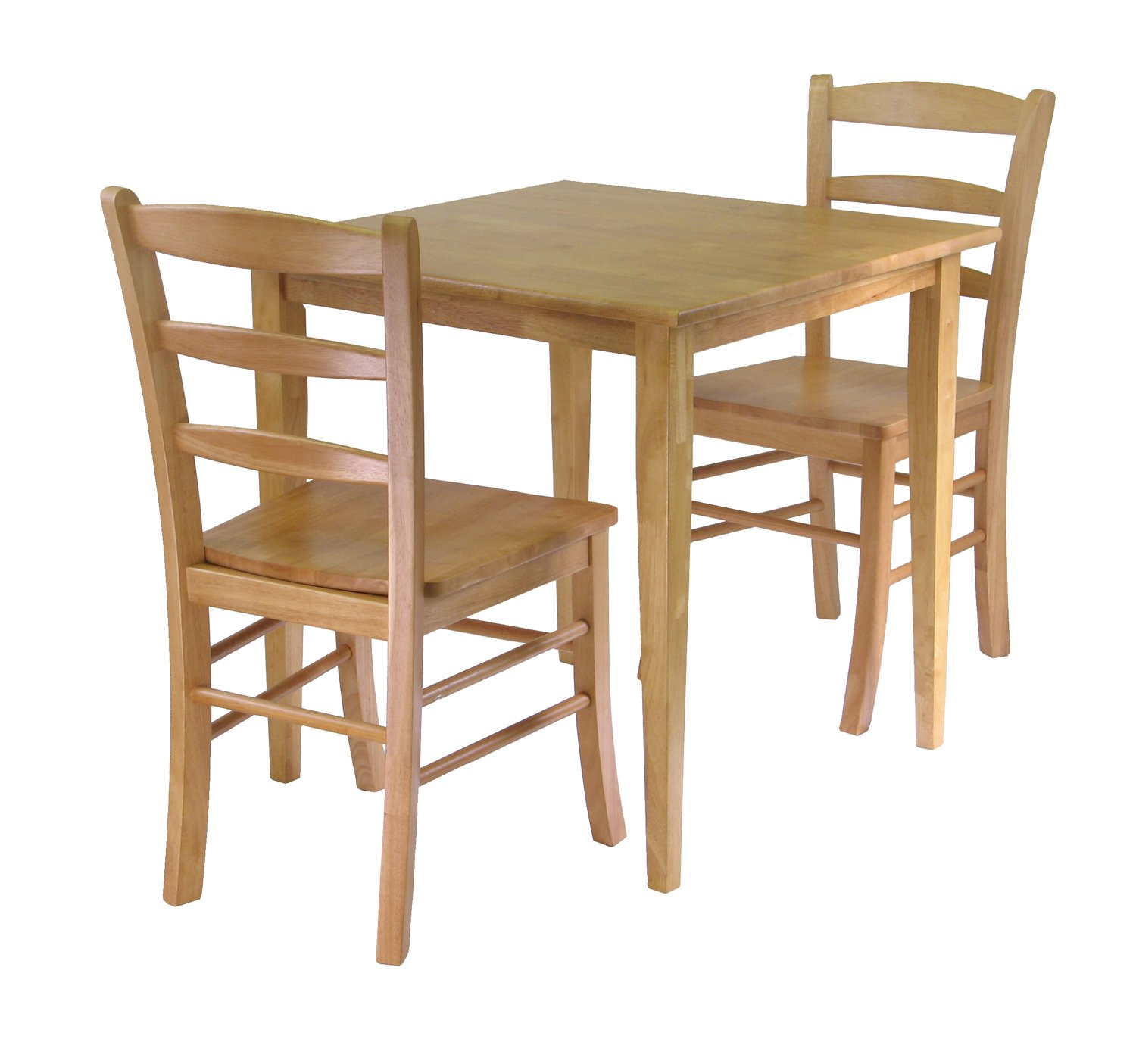 Lovely Dining Table For Two Part - 11: Amazon.com - Winsome Groveland Square Dining Table With 2 Chairs, 3-Piece -  Chairs