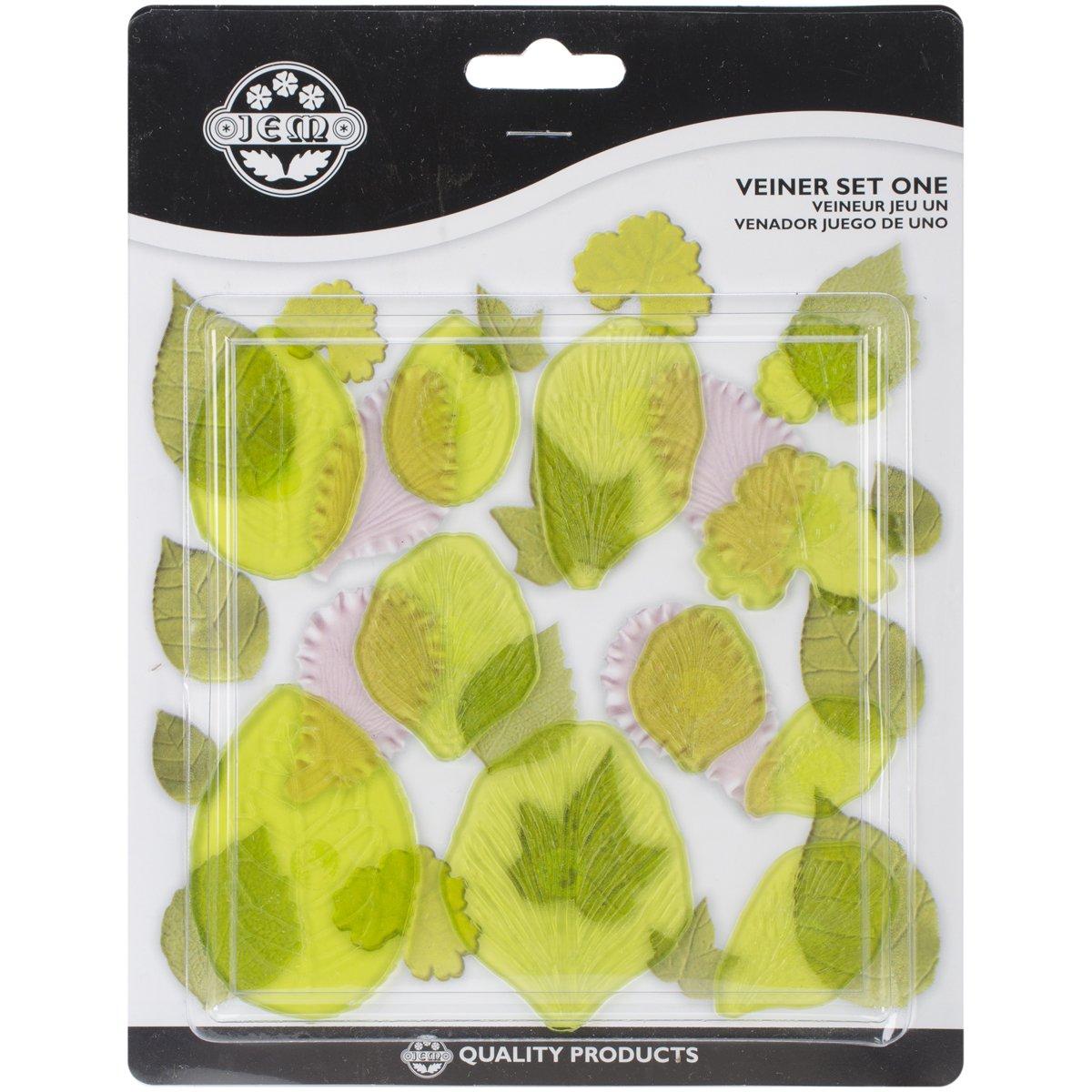 Plastic Cutters 11/Pkg-Vein Set 1