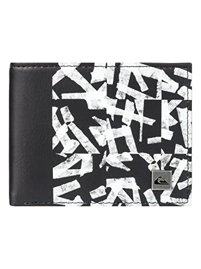Quiksilver Freshness Monedero, 15 cm, Bright White