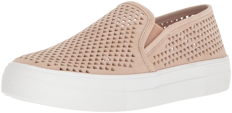 Steve Madden Women's Gills-p Sneaker B077GY5CFF 8 B(M) US|Natural Suede