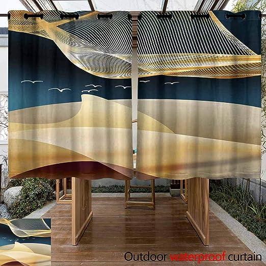 VIVIDX - Cortina y Cortina para pérgola Ligera: Amazon.es: Jardín