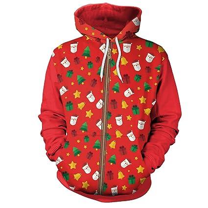 Jojo Christmas Sweater.Amazon Com Jojo Christmas Hoodie Sweater Digital Red