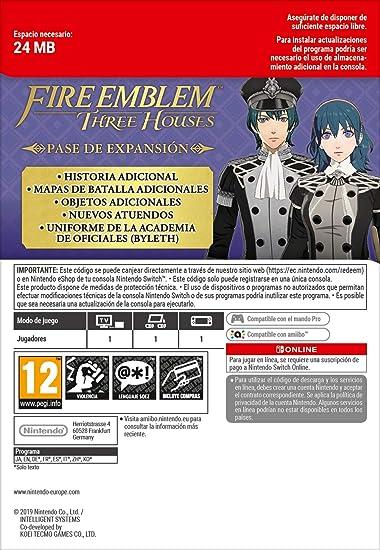 Fire Emblem: Three Houses [Nintendo Switch] + Switch Online 12 ...
