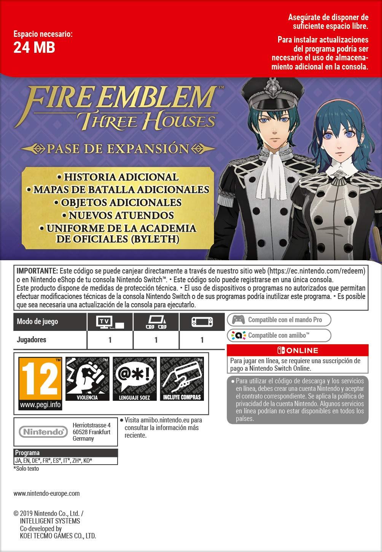 Fire Emblem: Three Houses [Nintendo Switch] + Pase de ...