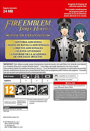 Fire Emblem: Three Houses [Nintendo Switch] + Pase de ...